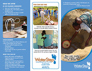 WaterStep - Logos - Medical Conference Brochure