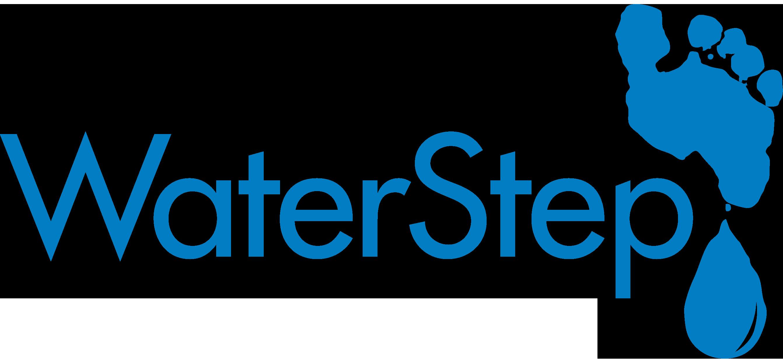 Waterstep - Logos - New Logo Blue