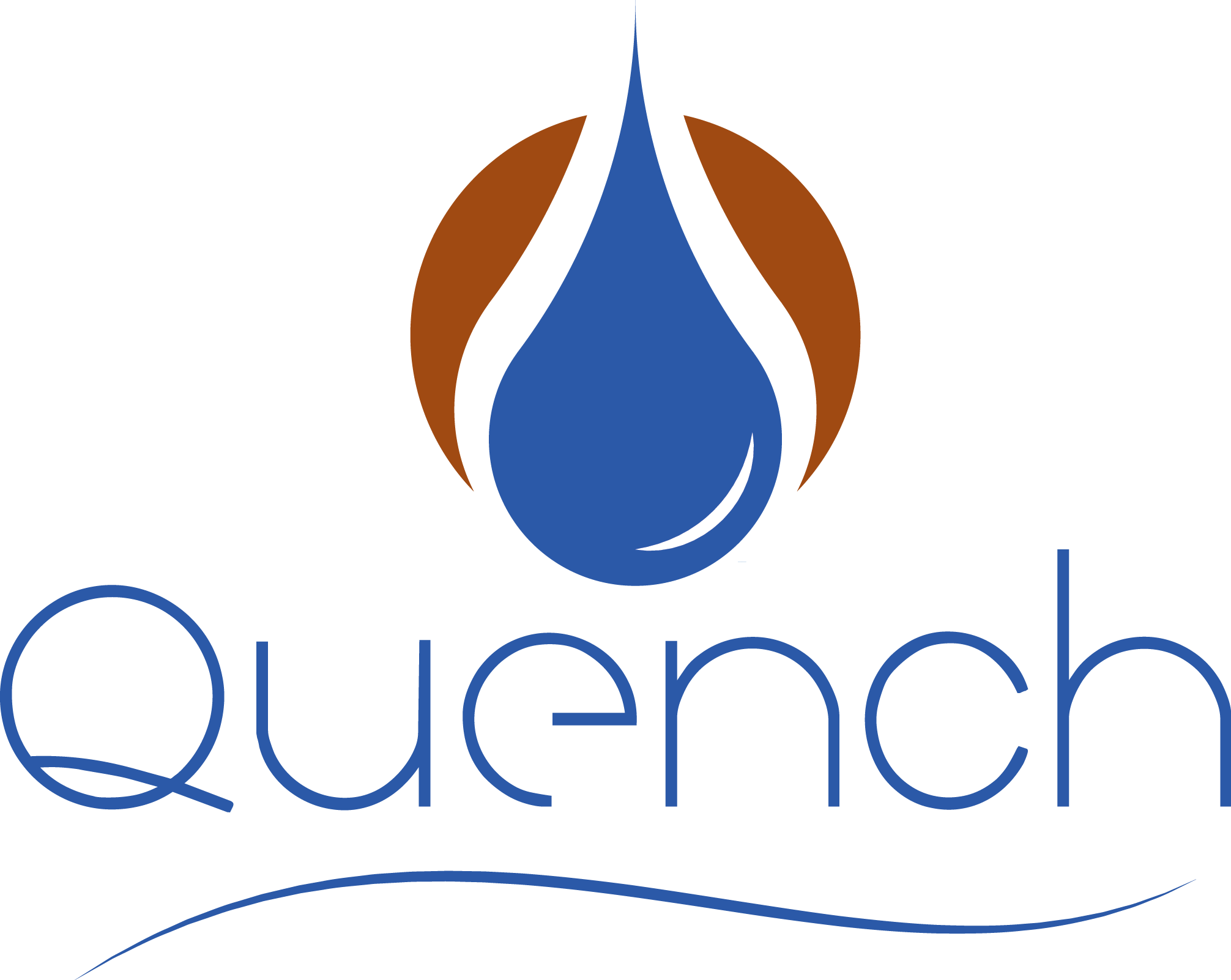 Waterstep - Logos - Quench Logo Swooshed