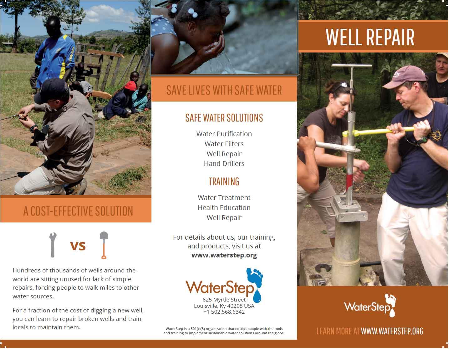 Waterstep - Logos - Well Repair Brochure