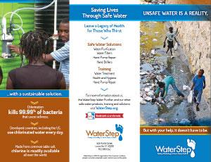 Waterstep - logo M-100 Brochure