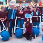 WaterStep Interns Engage WE Day Audience
