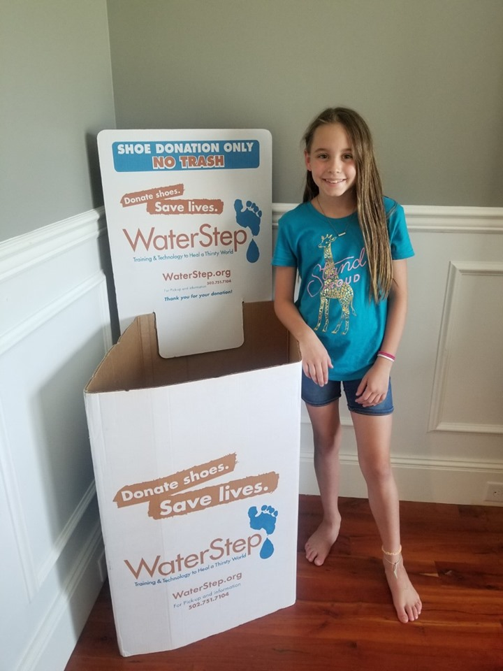 Stepping up for WaterStep