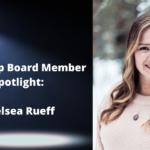 Meet Board Member Chelsea Rueff!